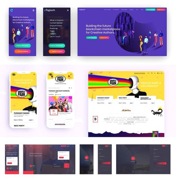2019流行的<b>网站设计</b>风格.jpeg